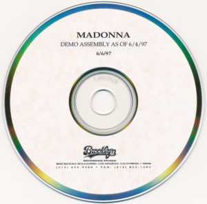 DOWNLOAD ALBUM: Madonna – Demo Assembly As Of 6-6-97 (ZIP)